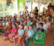 Koncerty pro mateřské školky z projektu Mládež v akci: 27. 6. 2011, MŠ Balzacova, Havířov