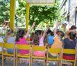 Koncerty pro mateřské školky z projektu Mládež v akci: 28. 6. 2011, MŠ Čelakovského, Havířov