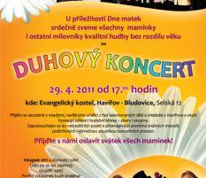 Duhový koncert ke Dni matek, 29. 4. 2011, Evangelický kostel, Havířov